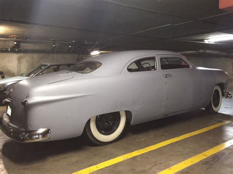 1950 chopped top ford shoebox classic collector hotrod hot
