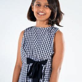 Buy SITA - Bamboo top with contrasted knot | Auroville