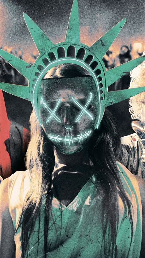 Wallpaper The Purge: Election Year, mask, best movies of