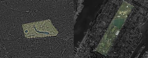 Hyde Park & Kensington Gardens (London) compared with Cent