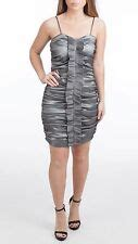 BLUE CELEBRITY TOWIE AMY SWEETHEART TAFFETA RUCHED SEQUIN