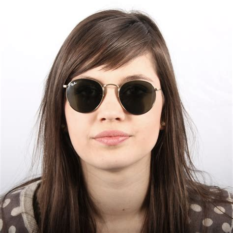 Ray-Ban Round Metal Or RB3447 001 47-21 | Visiofactory