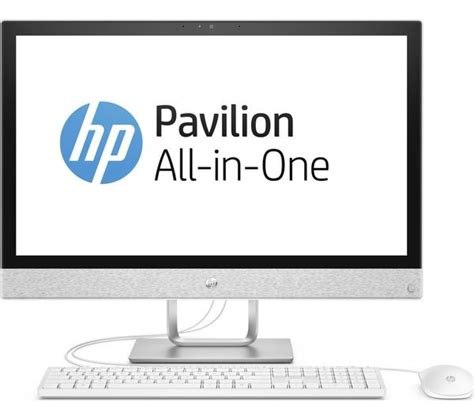 Grade2B - HP Pavilion 24-r101na 24in White All-in-One PC