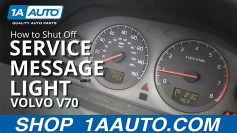 How To Shut Off Time for Regular Service Reminder Message