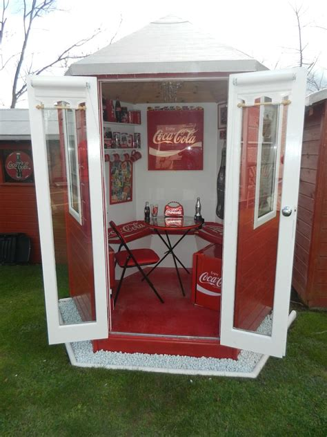 Coca-Cola Obsessed Woman Covers Her House In Coke