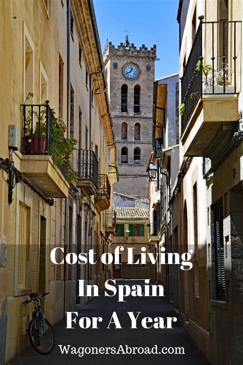 How Much Was The Cost Of Living In Spain For A Year
