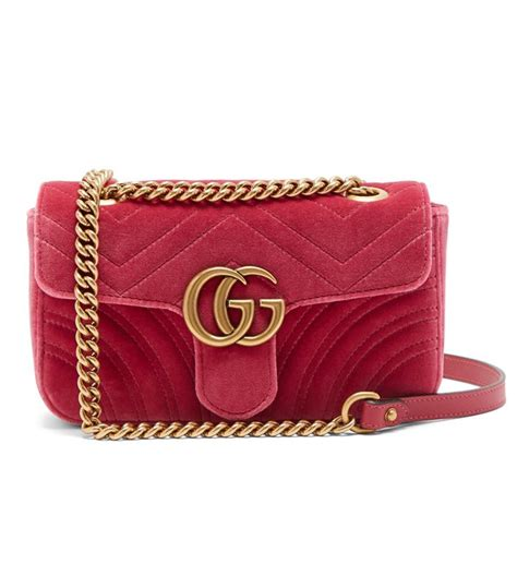 Why You Need to Buy the Gucci Velvet Marmont Bag | Who