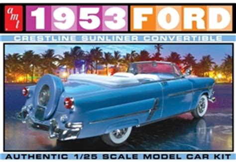 1953 Ford Crestliner Convertible with Continental kit (1