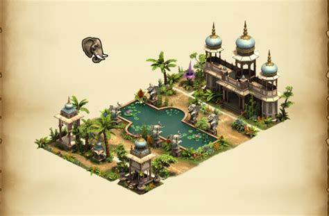 Indian Fountain Set | Forge of Empires Wiki | FANDOM