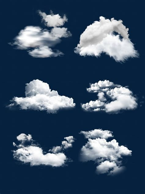 Physical White Cloud Fluffy Decoration Material Design