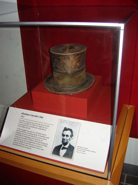 Abraham Lincoln's top hat   The National Museum of