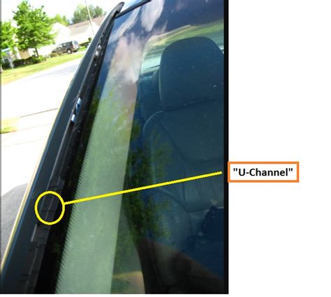 Windshield rubber side weather stip - Page 2