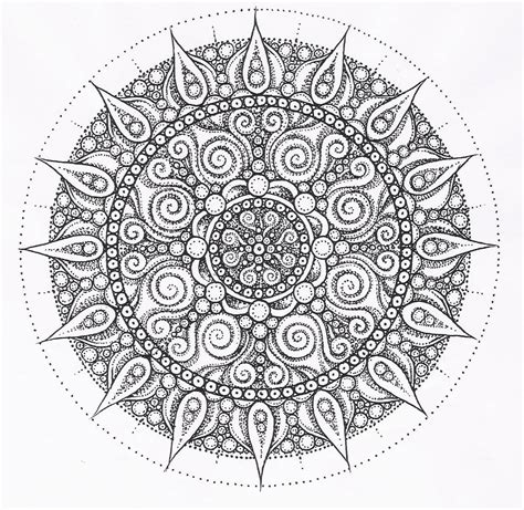 Hard Kaleidoscope Coloring Pages - Coloring Home