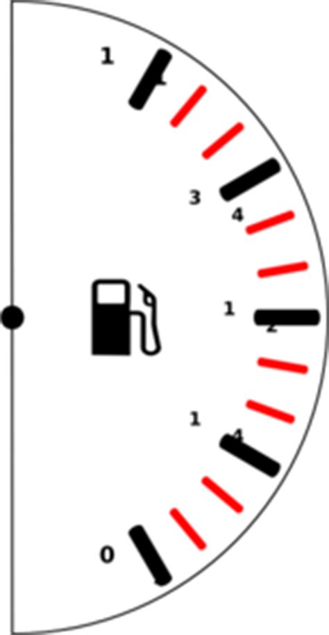 Fuel indicator clipart - Clipground