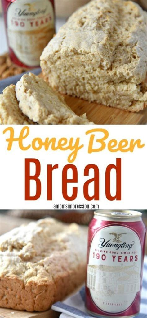 Honey Beer Bread Recipe With Yuengling Lager - A Mom's