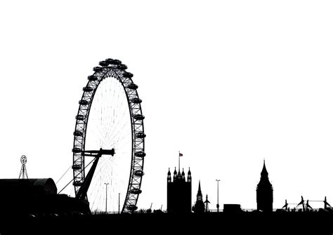 London Silhouette By Simon & His Camera | There is colour