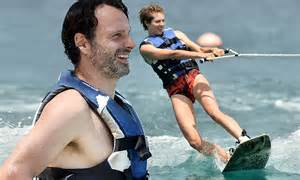 Now Walking Dead star Andrew Lincoln enjoys an action
