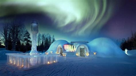 A Thrilling Winter Accommodation Experience: Arctic