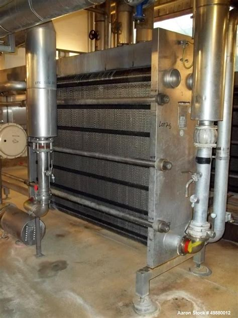 Used- Alfa Laval Plate Heat Exchanger, Type M15-F