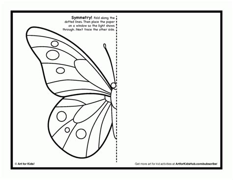 Symmetry Coloring Sheets - Coloring Home
