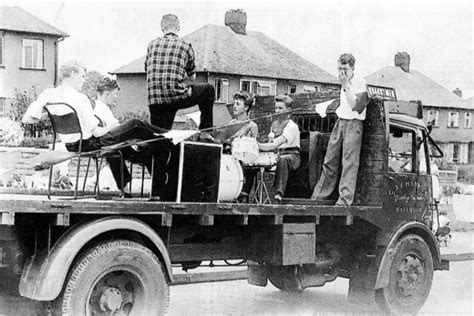 Photos of the Quarrymen From the Late 1950s ~ Vintage Everyday