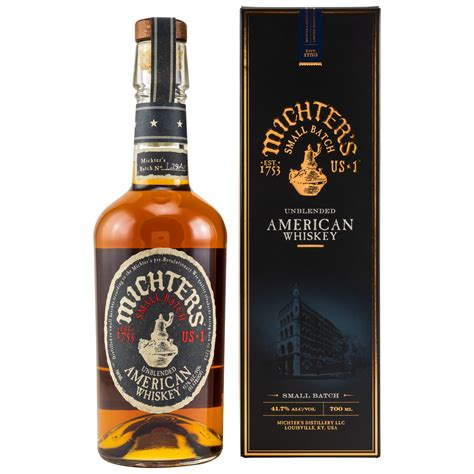 Michters Unblended American Whiskey Small Batch hier