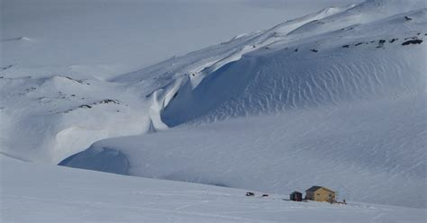 Expedition to the cabin among glaciers: 2 days dogsledding