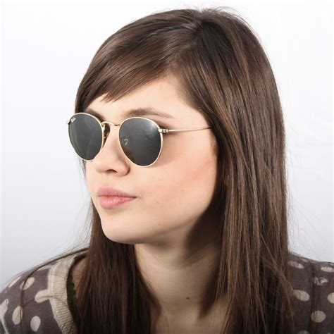 Ray-Ban Round Metal Gold RB3447 001 50-21 | Visiofactory