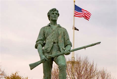 April 19, 1775, Lexington and Concord Begins the American
