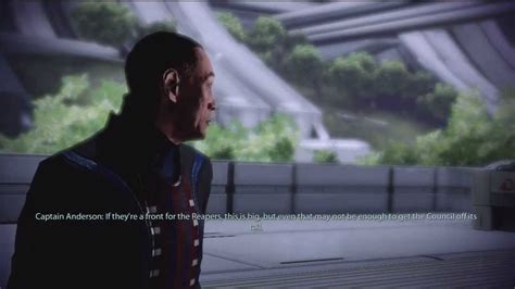 Unique Mass Effect 3 Udina Councilor Instead Of Anderson