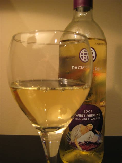 2009 Pacific Rim Sweet Riesling - FIrst Pour Wine