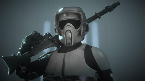 Scout trooper has gotta be my favourite looking sniper in
