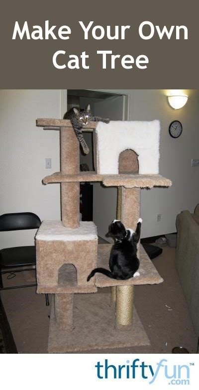 Making Your Own Cat Tree | ThriftyFun
