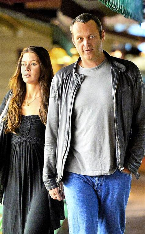 Vince Vaughn Holds Hands With Wife, Kyla Weber, During