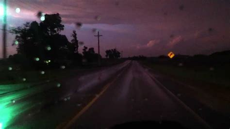 After bad thunderstorm with tornadoes - YouTube