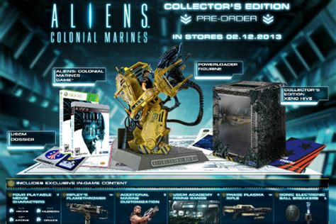 Aliens: Colonial Marines Collector's Edition unveiled with