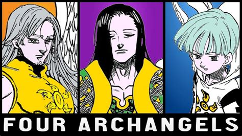 Four Archangels Explained | The Seven Deadly Sins - YouTube