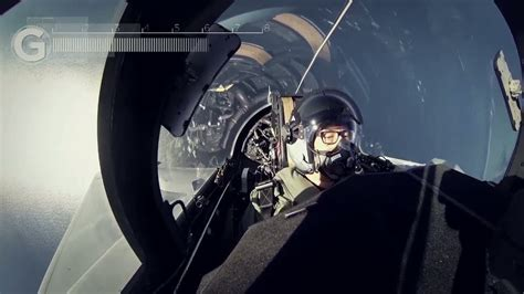 Flying lesson on a Saab JAS 39D Gripen jetfighter