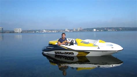 2008 Seadoo Speedster Supercharged - YouTube