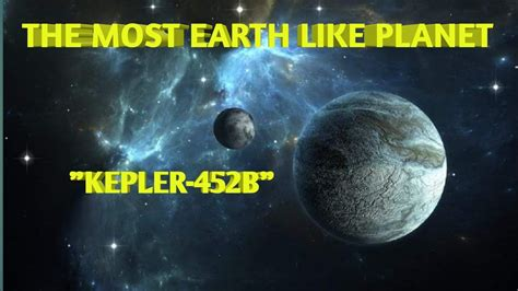 """EARTH LIKE PLANET """"KEPLER-452B"""" 10 FACTS YOU DONT KNOW"""