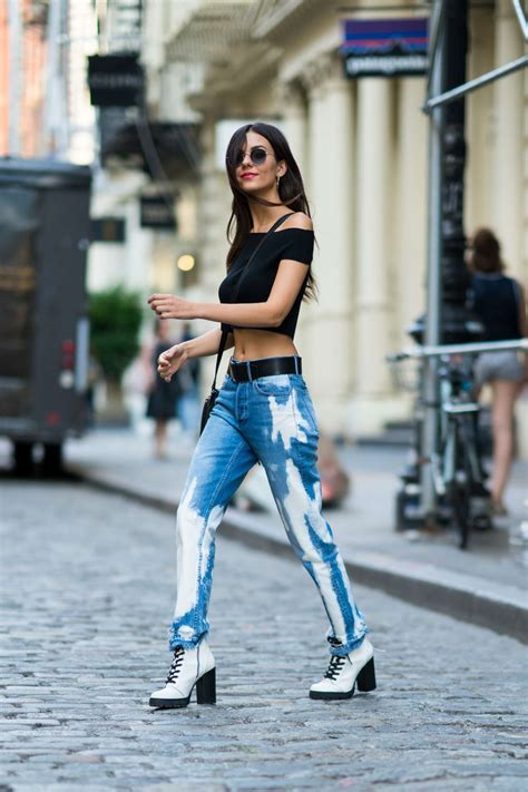 Victoria Justice in Jeans and Black Crop Top -21 | GotCeleb