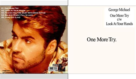 MUSICOLLECTION: GEORGE MICHAEL - One More Try - CDSINGLE