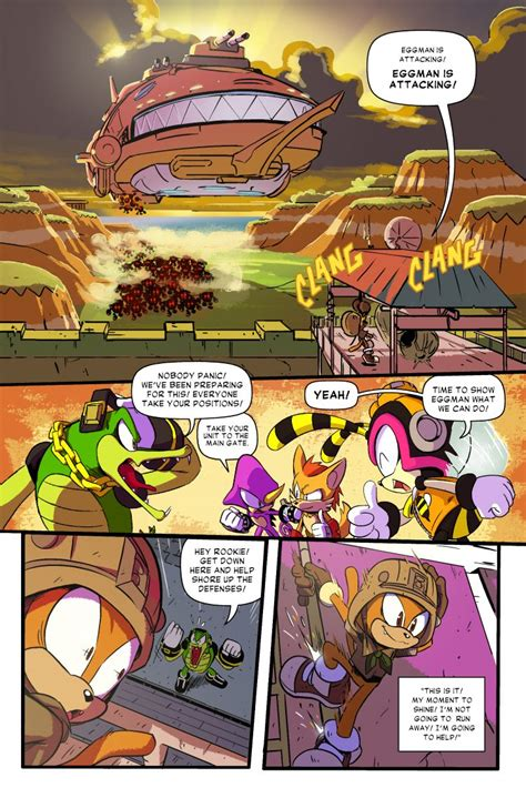 Sonic Forces four-part free digital comic debuts today