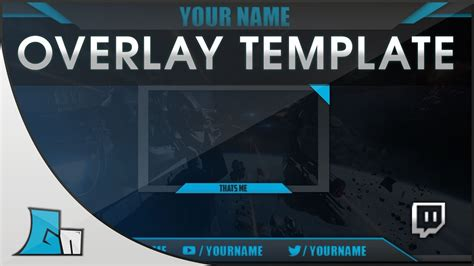 Photoshop Stream Overlay Template   all Colors   Free