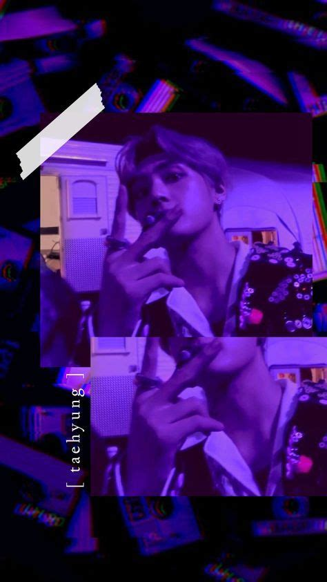 31 Ideas Taehyung Purple Aesthetic Wallpaper For 2019