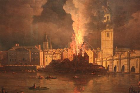 File:The Waterworks at London Bridge on Fire, 1779, by