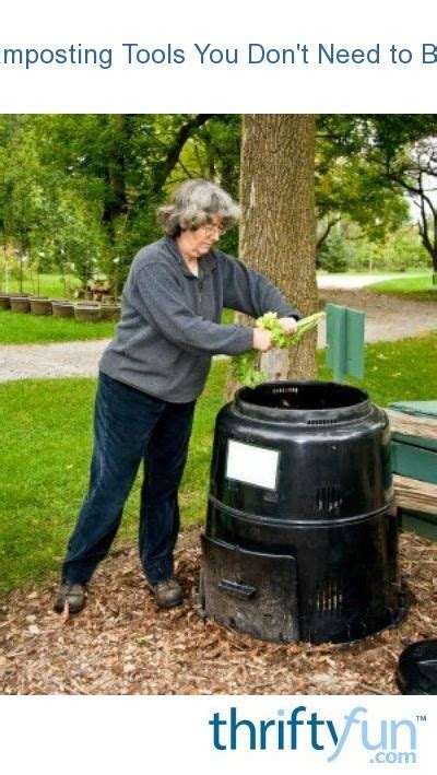 Composting Tools You Don't Need to Buy | ThriftyFun