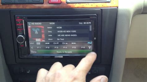 Audi A6 with kenwood double din - YouTube
