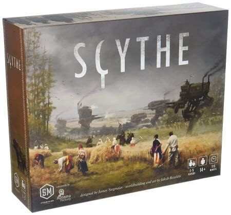 Scythe Board Game - Review, Gameplay & Insights