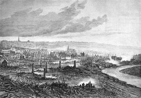 File:The great fire at Quebec - View from the Marine